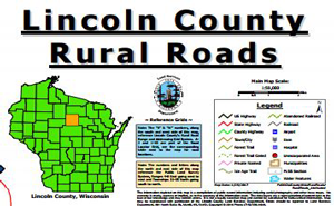 Lincoln County Rural Roads Official Map